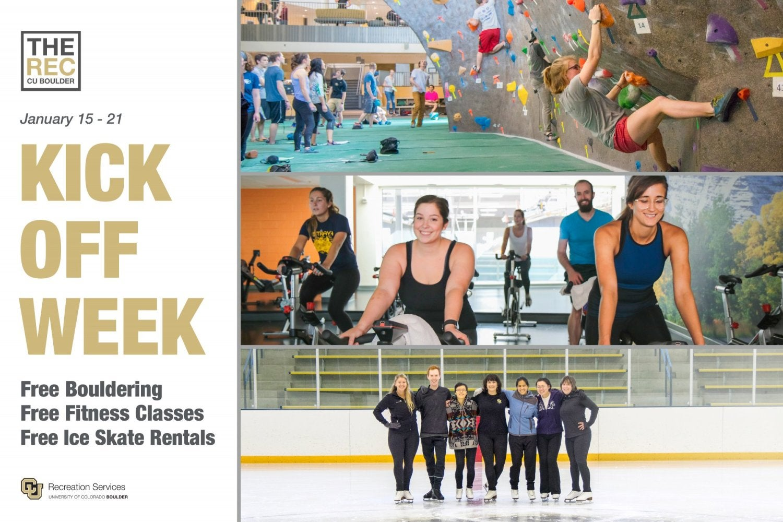Kick off Week: Starts Jan 15