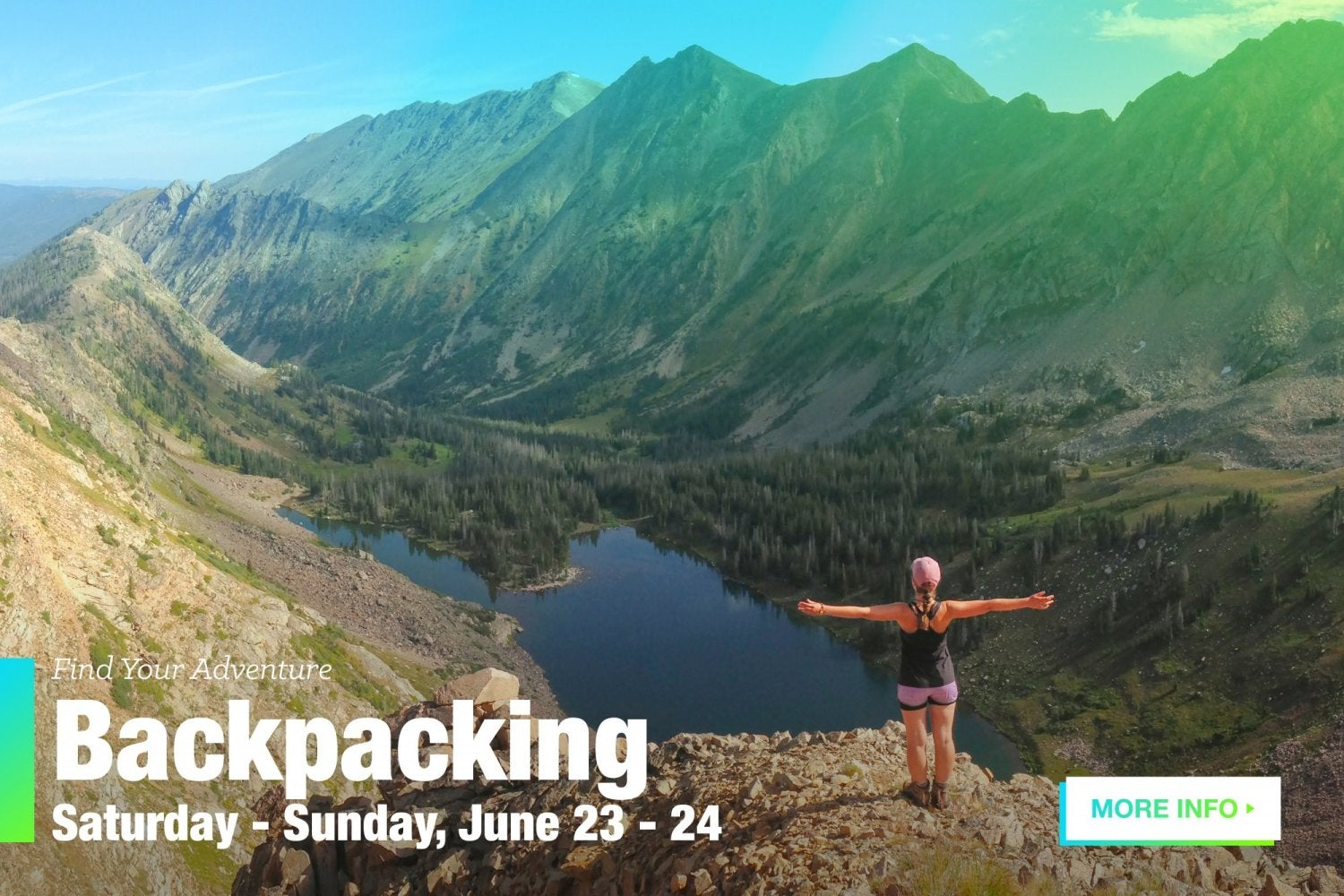Backpacking trip.  click for more information