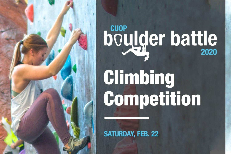 Boulder Battle Climbing Competition