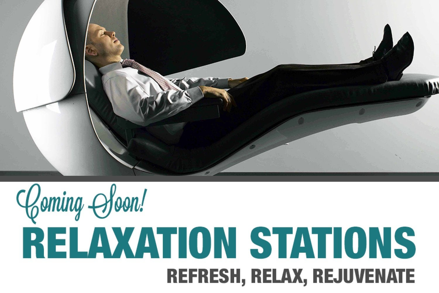 realxation stations coming soon to the rec
