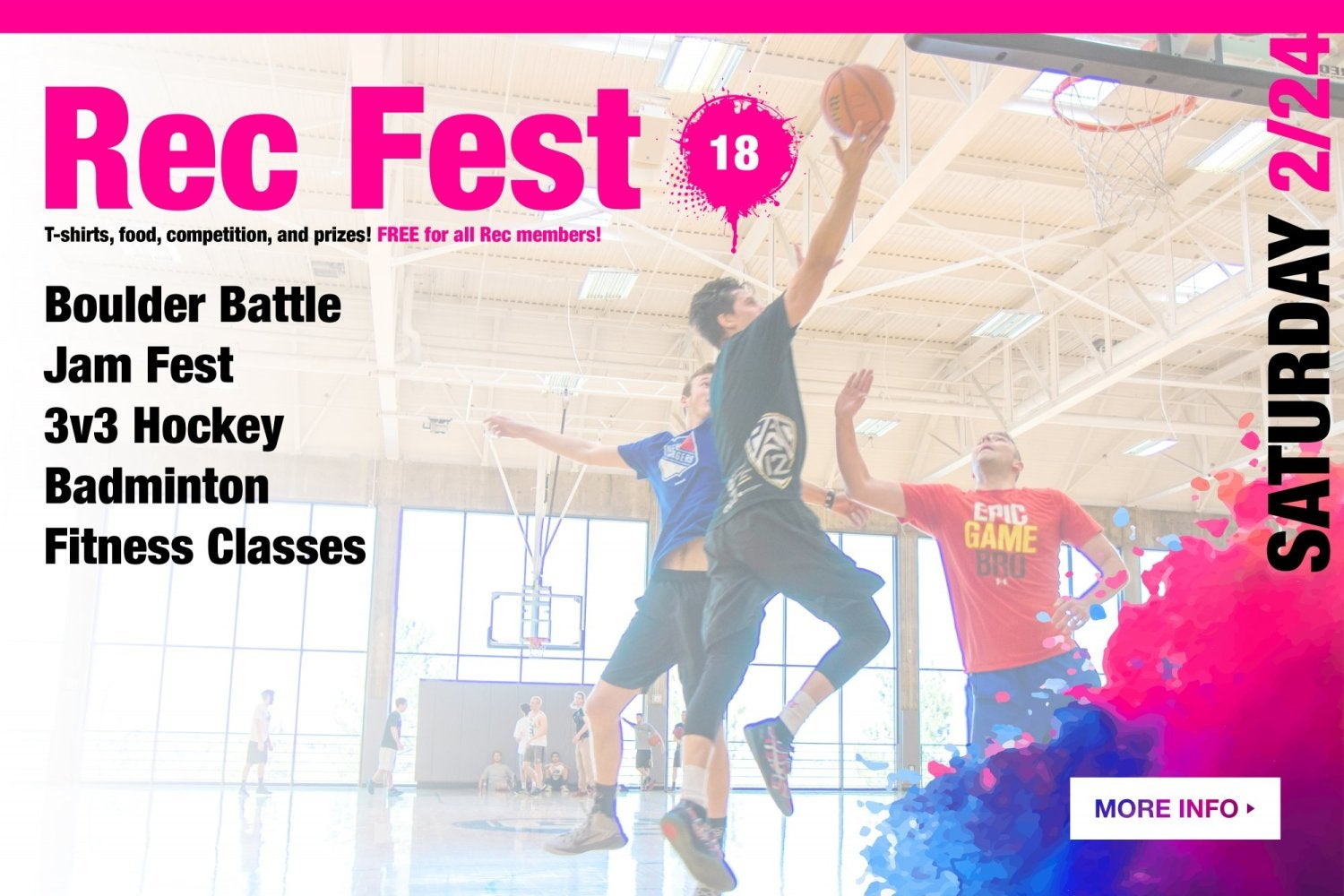 Recfest.  Click here for more information