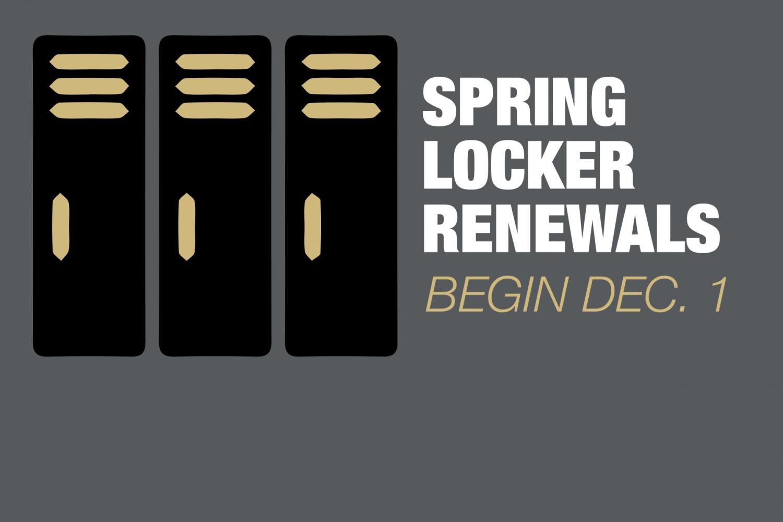 Spring Locker Renewals