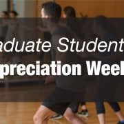 Graduate student appreciation week