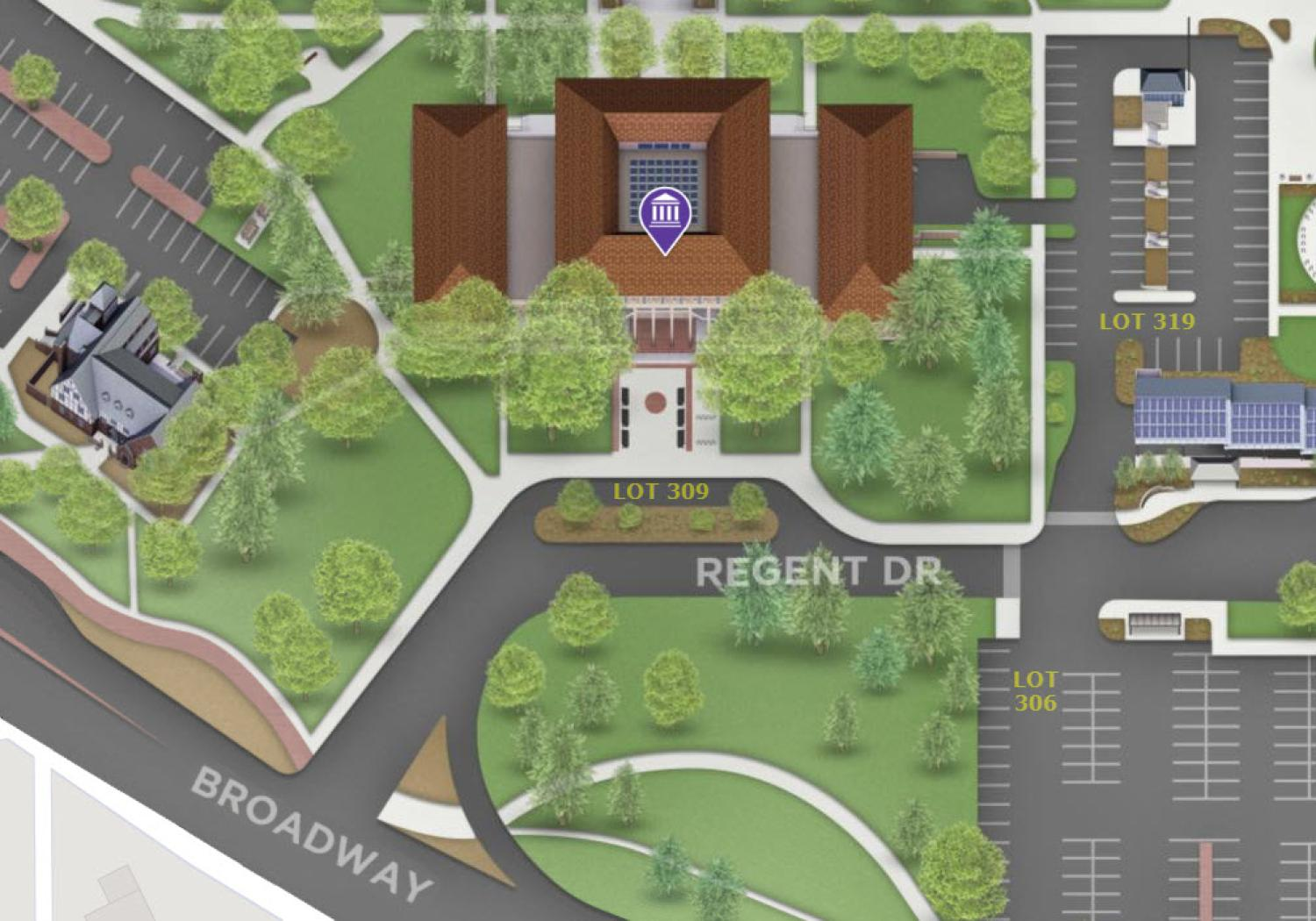 Regent Administrative Center (click for interactive map)