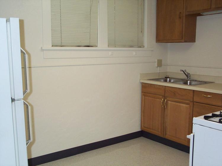 1302 Grandview downstairs unit kitchen