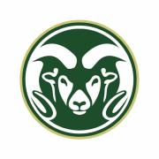The logo for Colorado State University.