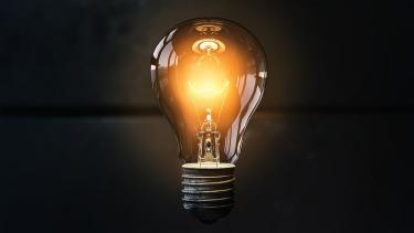 Industry stock mage lightbulb