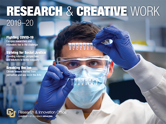 Research & Creative Work 2019-20 report cover