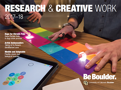 Research & Creative Work 2017-18