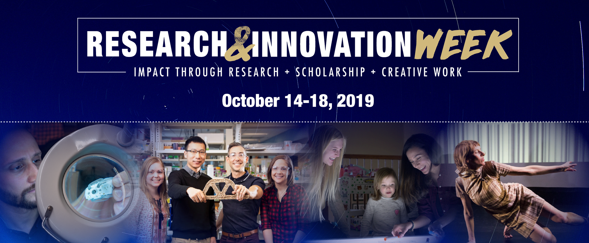 Expert panels, student showcases headline Research & Innovation Week October 14-18