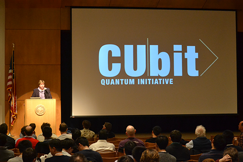 Vice Chancellor Terri Fiez announces launch of The CUbit Quantum Initiative