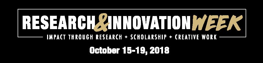 Research & Innovation Week wordmark