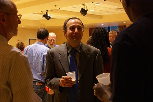 From the reception for the Distinguished Research Lecture, August 30, 2012
