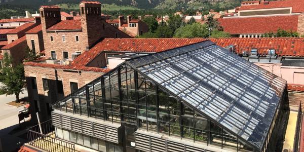 EBIO greenhouse facility
