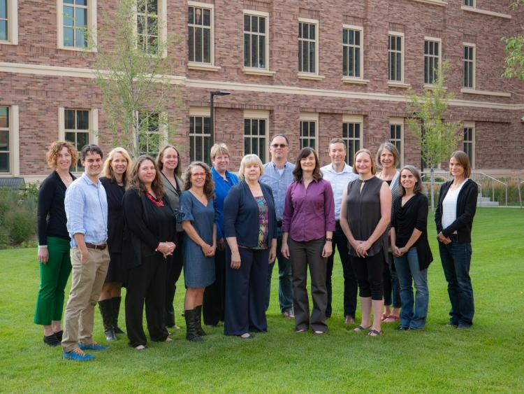 Group photo of first faculty fellows cohort