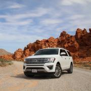 ford explorer in the desert
