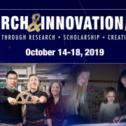 Expert panels, student showcases headline Research & Innovation Week October 14-18