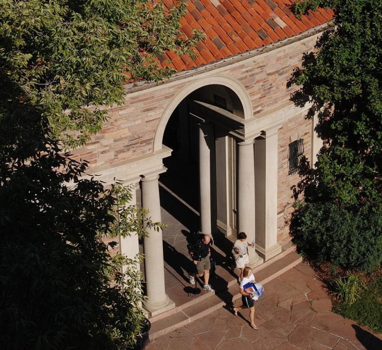 Sewall Hall Entrance