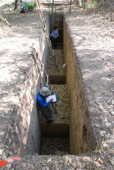 Excavation at La Consentida