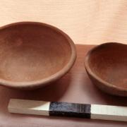 Late Formative pottery. / Cerámica del periodo Formativo tardío.