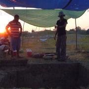 Rio Viejo at sunrise / Amanecer en Rio Viejo