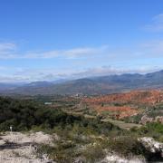 Nochixtlán Valley. / El valle de Nochixtlán.