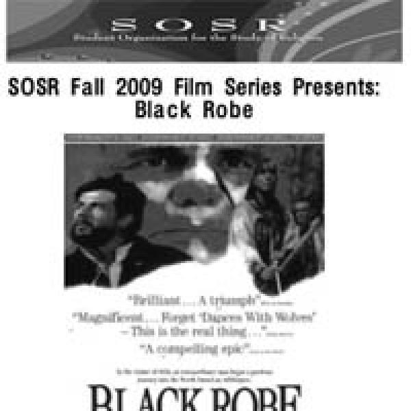 SOSR Black Robe Flier