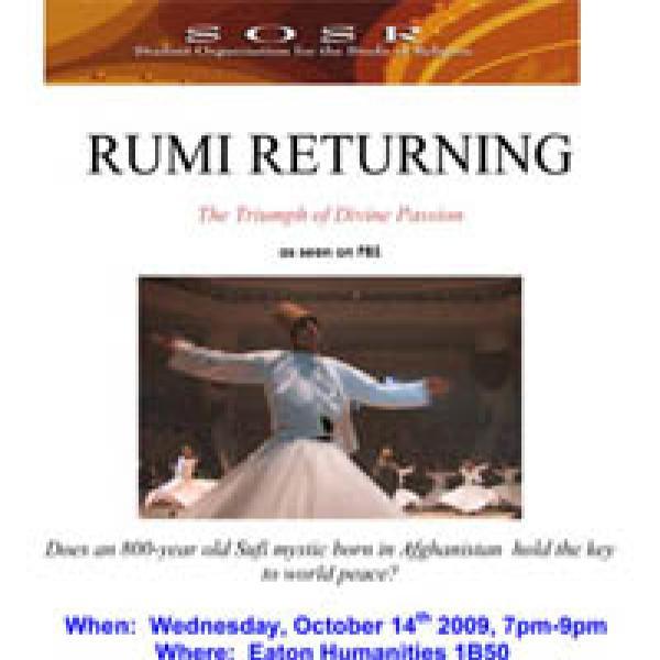 SOSR Rumi Flier