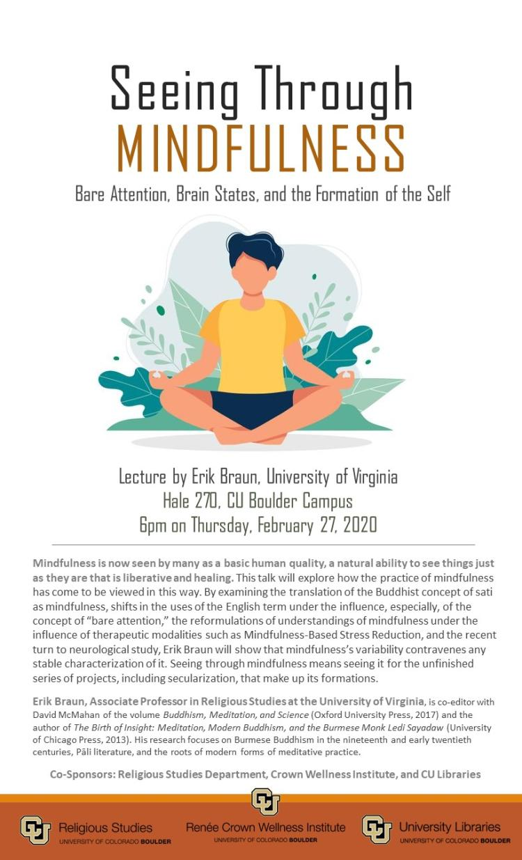 Seeing through Mindfulness - flyer