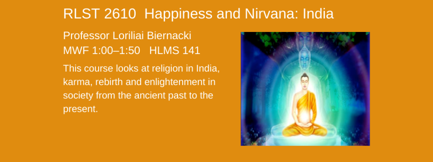 RLST 2610 india happiness and nirvana