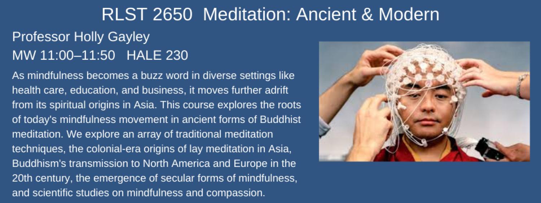 RLST 2650 Meditation