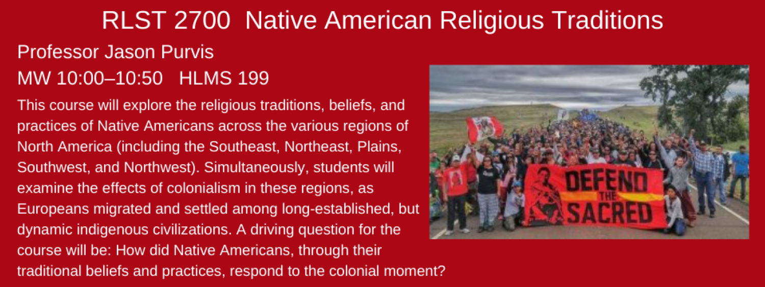 RLST 2700 native american religious traditions