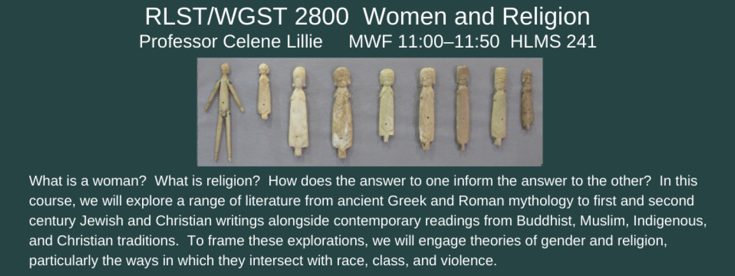 RLST 2800 women and religion
