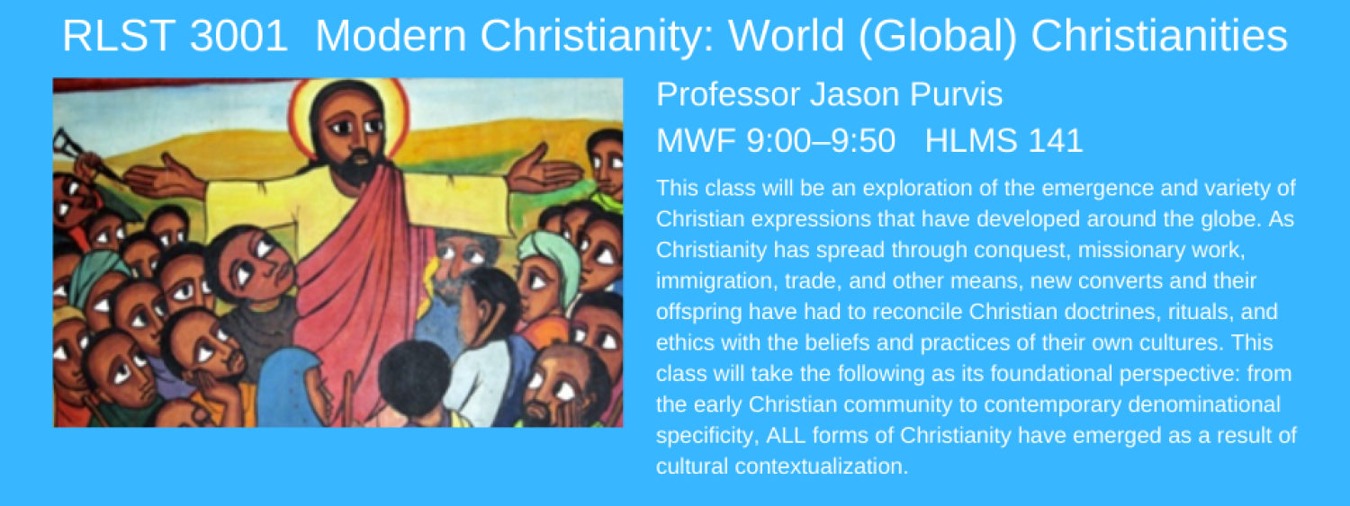 RLST 3001 world christianities