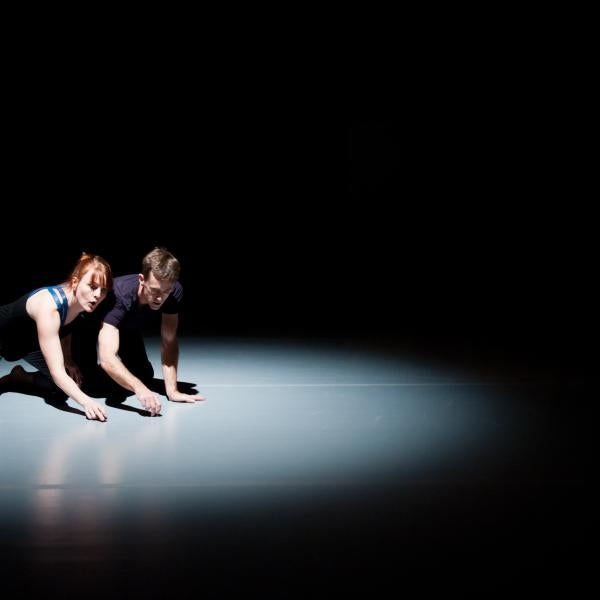 Chris Aiken and Angie Hauser Residency-Dance