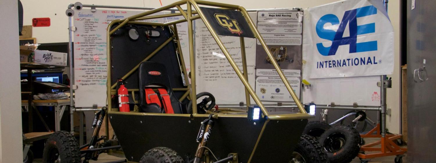 Final Baja Car used in competition