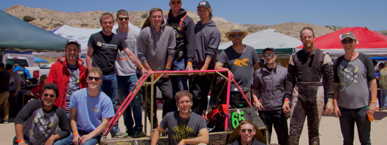 Team after the Endurance race in Gorman, CA