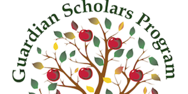 Guardian Scholars Program logo of fruit tree
