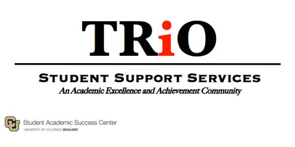 TRiO SSS logo - An Academic Excellence and Achievement Community