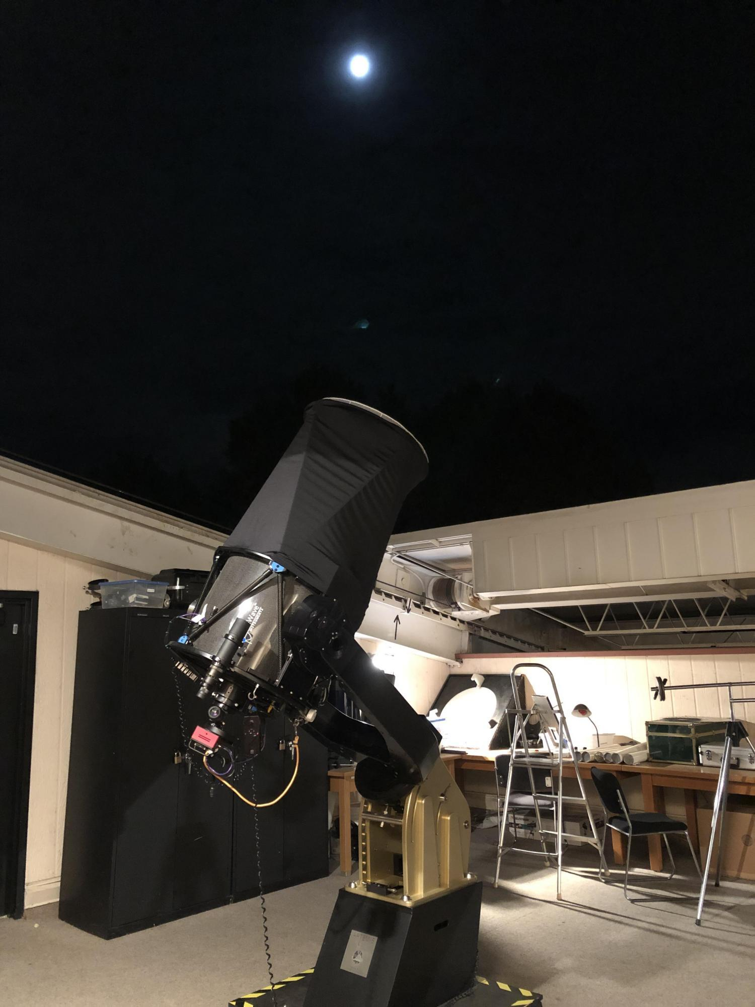 Photo of Telescope at SBO