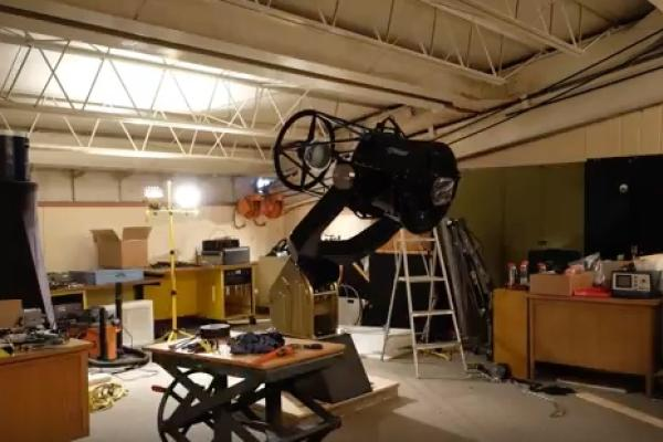 20-inch Telescopes Installation Time-lapse Video