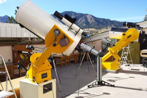 SBO Retired 18- and 16-inch Telescopes