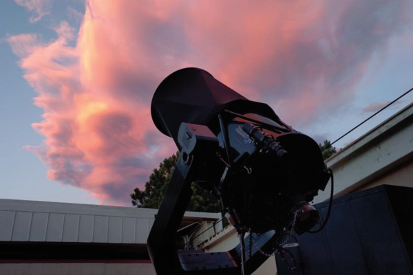 SBO Artemis Telescope at Sunset