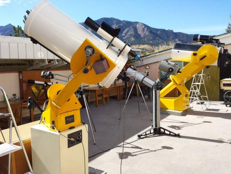 SBO 16- and 18-inch Telescopes.