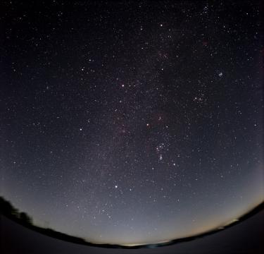 Night sky image from NASA