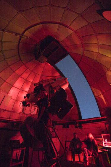 SBO 24-inch Boller & Chileens Telescope under dome.