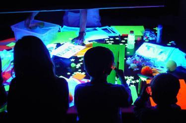 SBO ultraviolet room.
