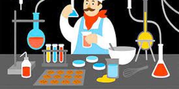 scientist cooking things