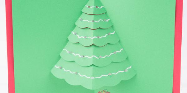 pop-up tree card