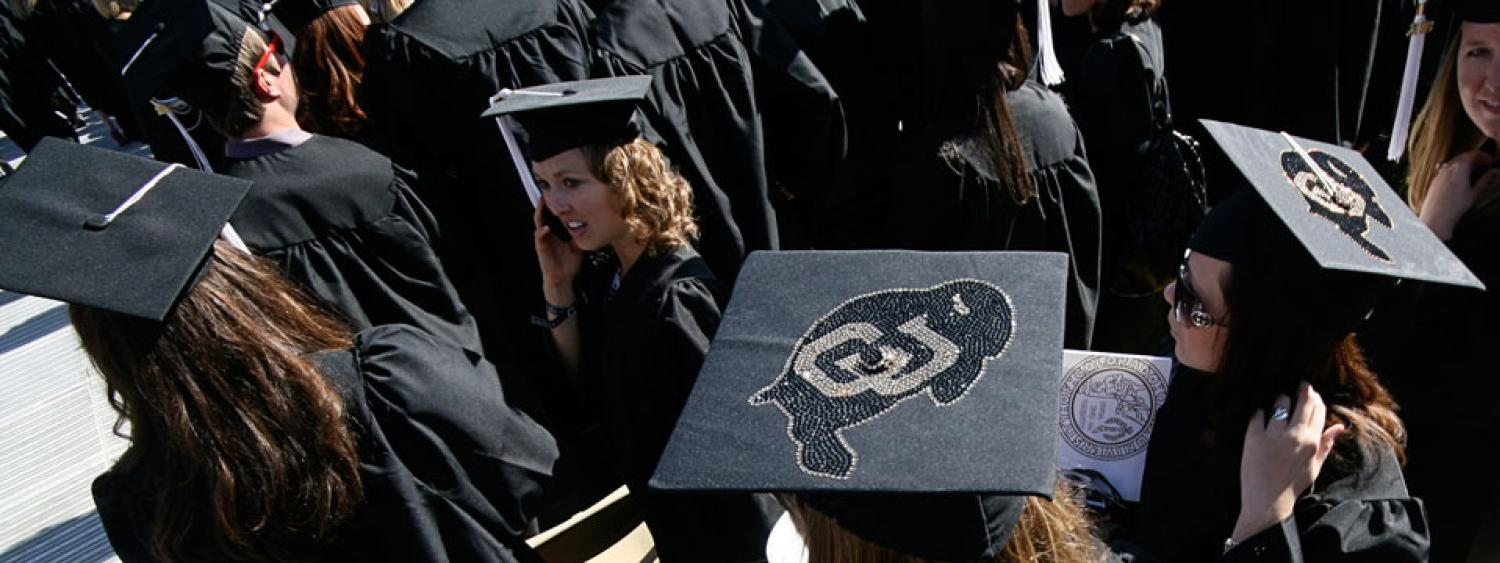 Hats at commencement